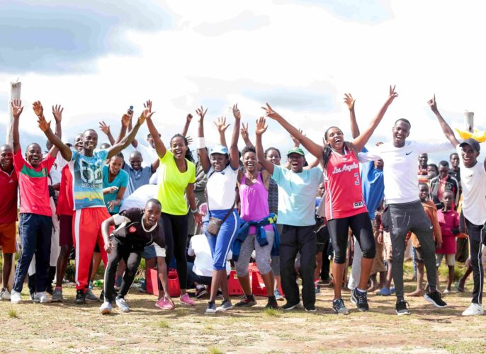 Activité sportive à KAYANZA